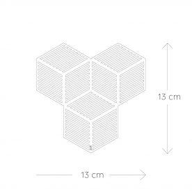 onderzetter - silicone - grijs