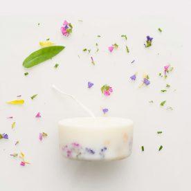 100% natuurlijke soja was geurkaars - wilde bloemen - 220ml