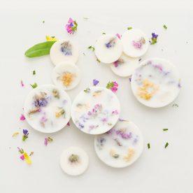 100% natuurlijke soja was geurschijfjes - wilde bloemen - 120ml
