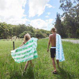 handdoek - sneldrogend - palmbomen (& je steunt een goed doel!)