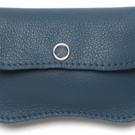 portefeuille - bird - mini - blauw