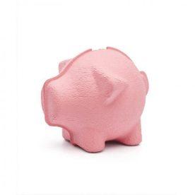 spaarvarken - papierpulp - roze