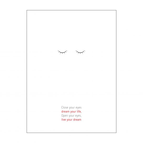 poster - close your eyes